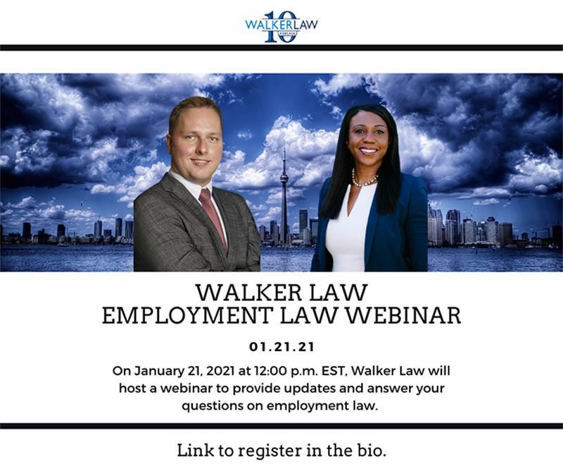 Employment Law Flyer